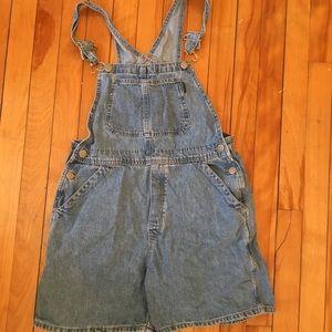 Pants - Denim overalls